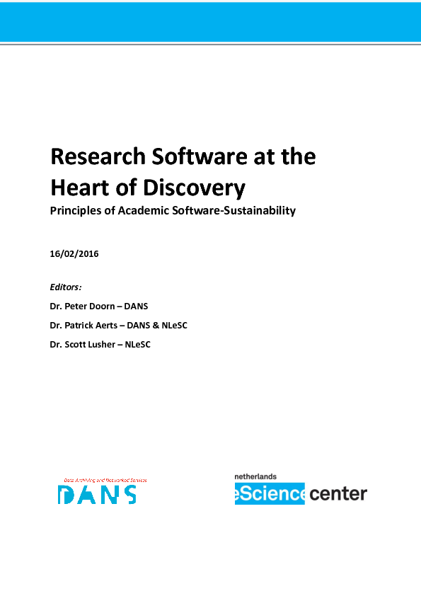 academic software research papers